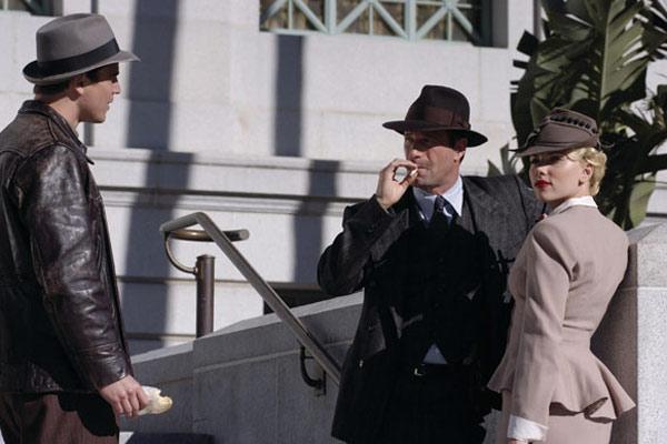 Josh Hartnett, Aaron Eckhart et Scarlett Johansson. Metropolitan FilmExport