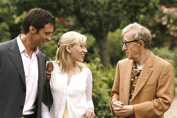 Hugh Jackman, Scarlett Johansson et Woody Allen. TFM Distribution