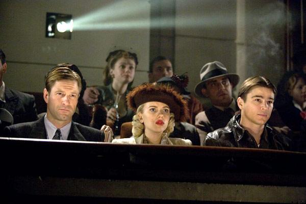 Aaron Eckhart, Scarlett Johansson et Josh Hartnett. Metropolitan FilmExport