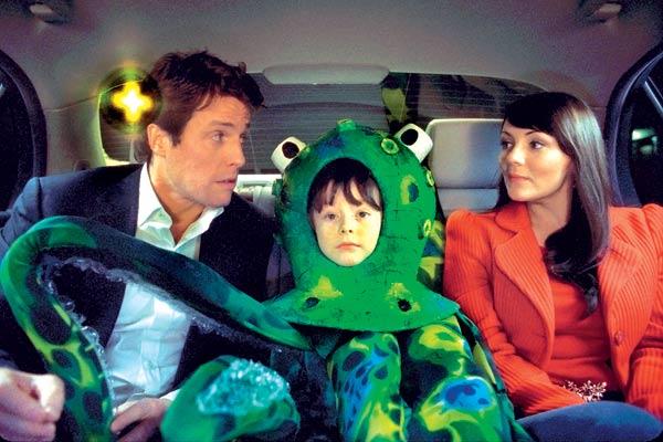Hugh Grant et Martine McCutcheon. Mars Distribution