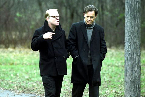 Philip Seymour Hoffman et Bruce Greenwood. Gaumont Columbia Tristar Films