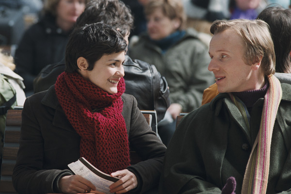 Laurent Stocker et Audrey Tautou. Pathé Distribution