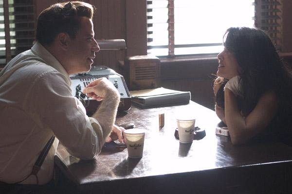 John Travolta et Salma Hayek. Metropolitan FilmExport