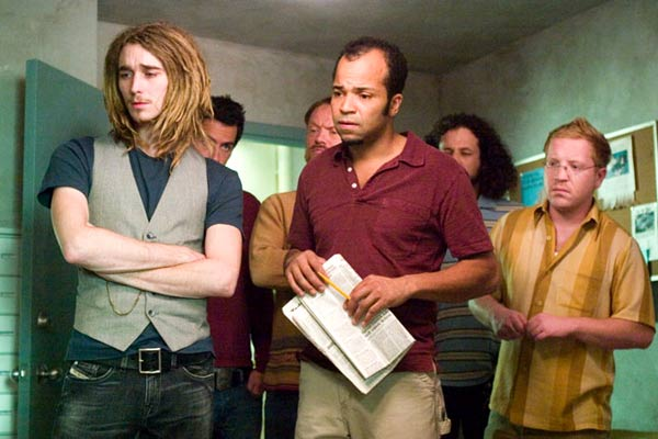 Grant Monohon, Jeffrey Wright et Ethan Cohn. Warner Bros. France