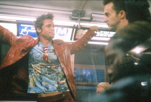 Brad Pitt et Edward Norton.