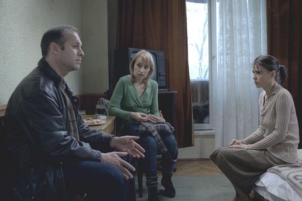 Vlad Ivanov, Anamaria Marinca et Laura Vasiliu. Bac Films