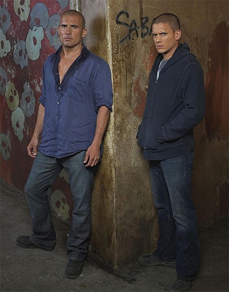 Dominic Purcell & Wentworth Miller. Fox Broadcasting