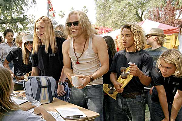 John Robinson, Victor Rasuk, Heath Ledger et Emile Hirsch. Sony Pictures Entertainment