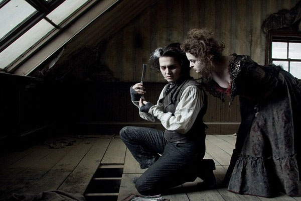 Johnny Depp et Helena Bonham Carter. Warner Bros. France