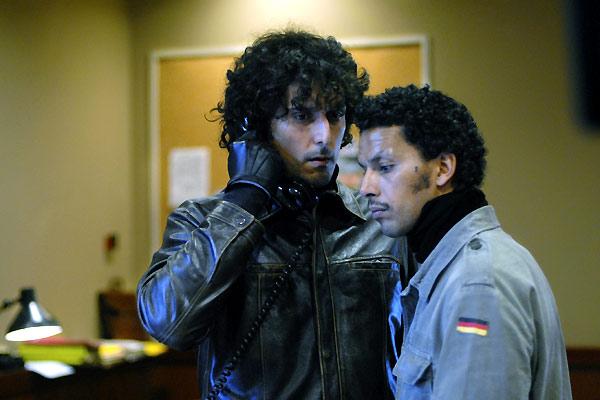 Vincent Elbaz et Sami Bouajila. EuropaCorp Distribution