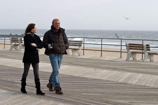 Evan Rachel Wood et Mickey Rourke. Wild Bunch