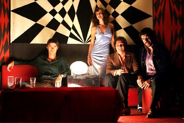 Kim Rossi Stuart, Anna Mouglalis, Claudio Santamaria et Pierfrancesco Favino. Warner Bros. France
