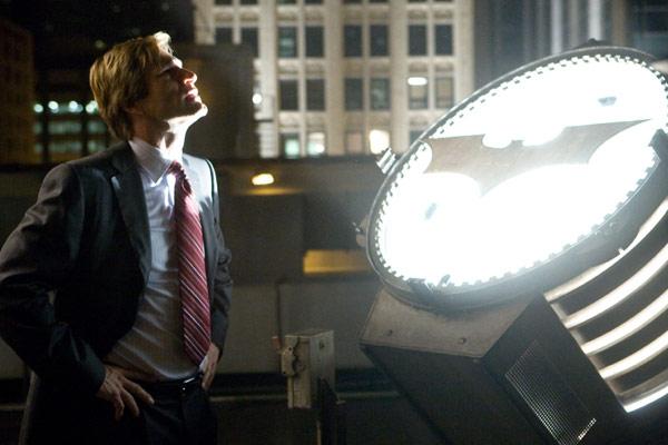 Aaron Eckhart. Warner Bros.