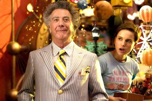 Dustin Hoffman et Natalie Portman. Walden Media
