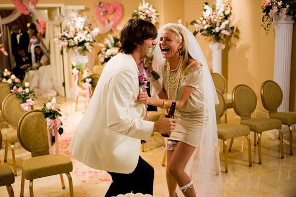 Cameron Diaz et Ashton Kutcher. 20th Century Fox