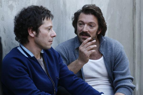 Mathieu Amalric et Vincent Cassel. La Petite Reine / Roger Arpajou