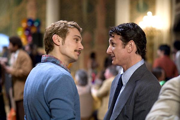 James Franco et Sean Penn. SND