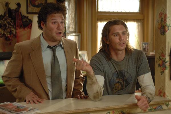 Seth Rogen et James Franco. Sony Pictures Releasing France