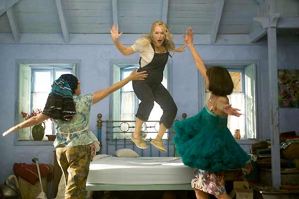 Christine Baranski, Meryl Streep et Julie Walters. Paramount Pictures France