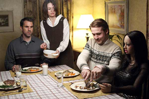 Ryan Gosling, Emily Mortimer et Paul Schneider. Diaphana Films