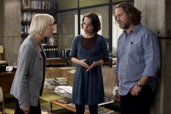 Helen Mirren, Rachel McAdams et Russell Crowe. StudioCanal