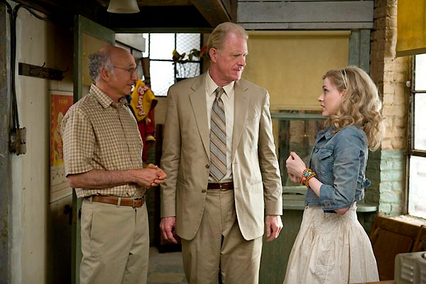 Evan Rachel Wood, Larry David et Ed Begley Jr.. Mars Distribution
