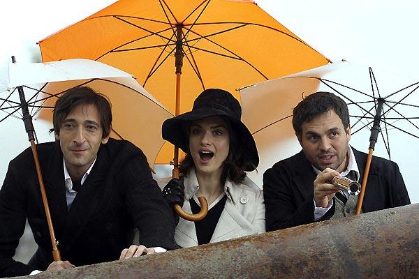 Adrien Brody, Rachel Weisz et Mark Ruffalo. SND