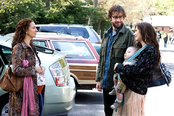 John Krasinski, Maya Rudolph et Maggie Gyllenhaal. Mars Distribution