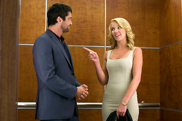 Katherine Heigl et Gerard Butler. Sony Pictures Releasing France