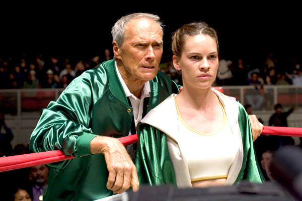Clint Eastwood et Hilary Swank. Mars Distribution