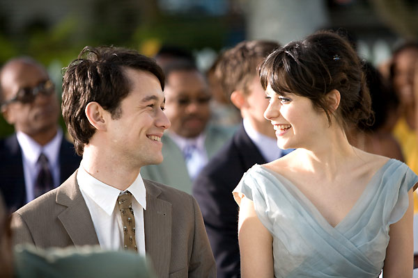 Joseph Gordon et Zooey Deschanel. Twentieth Century Fox France