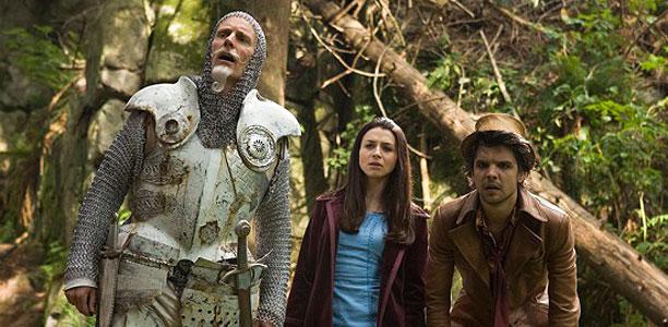Matt Frewer, Caterina Scorsone & Zak Santiago. NBC Universal
