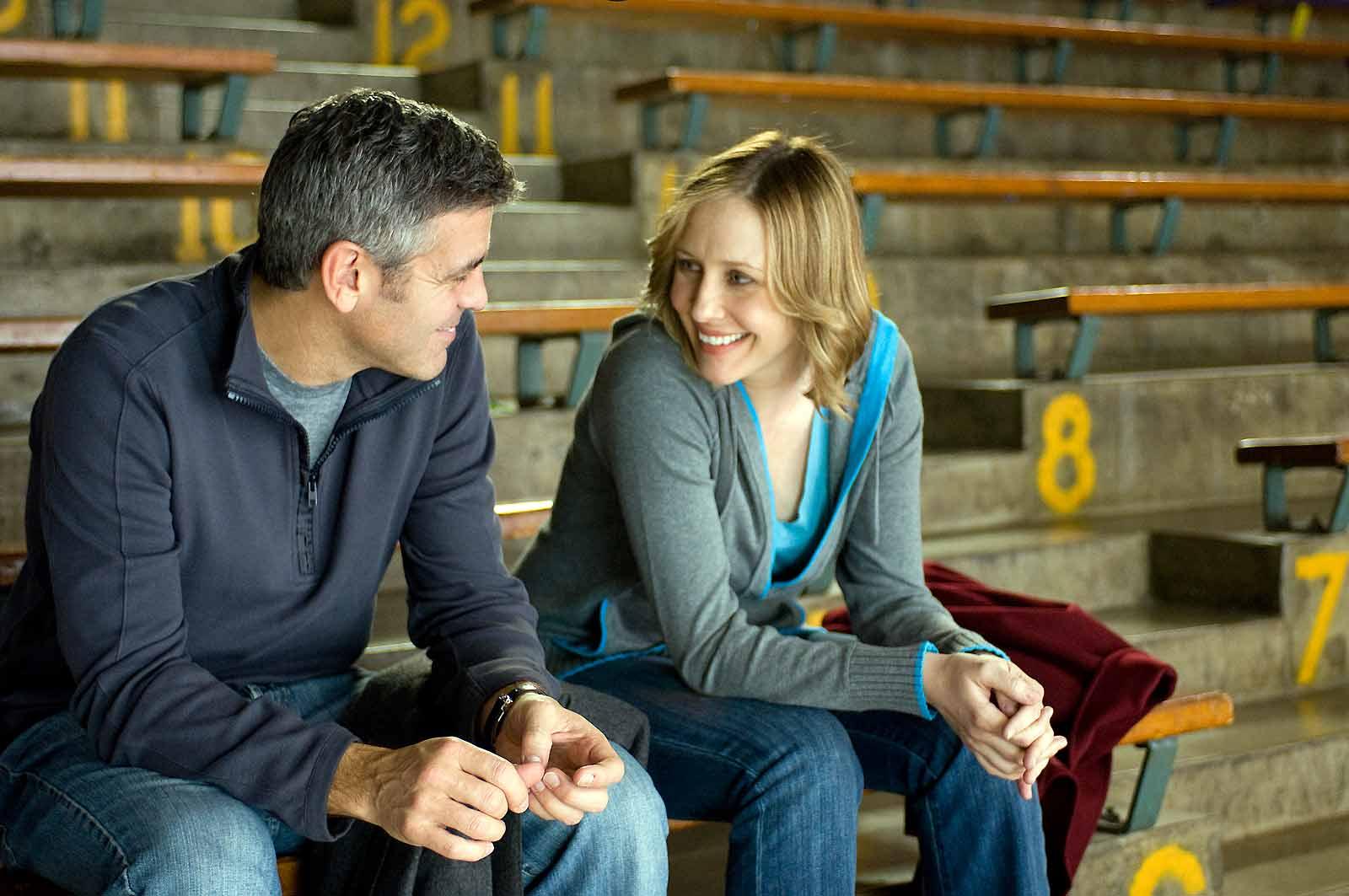 George Clooney et Vera Farmiga. Paramount Pictures France