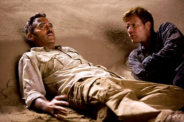 George Clooney et Ewan McGregor. Sony Pictures Releasing France