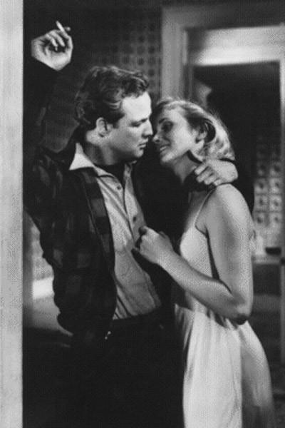 Marlon Brando et Eva Marie Saint. Action Cinémas / Théâtre du Temple