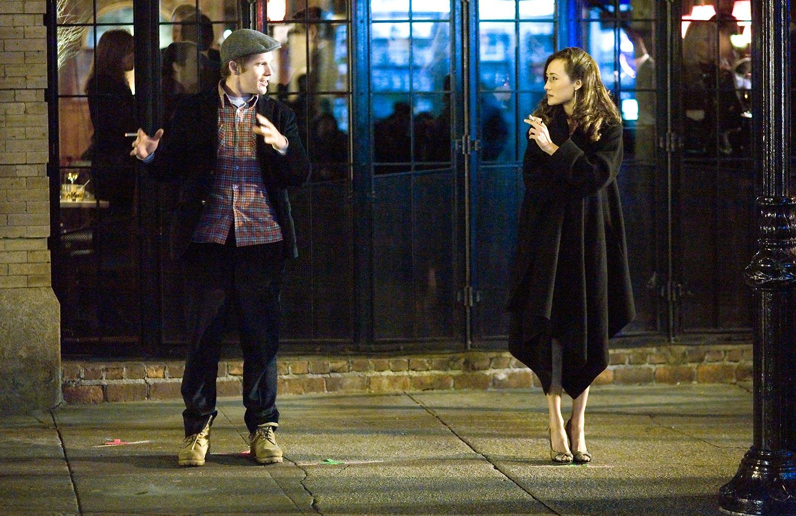 Ethan Hawke et Maggie Q. Metropolitan FilmExport