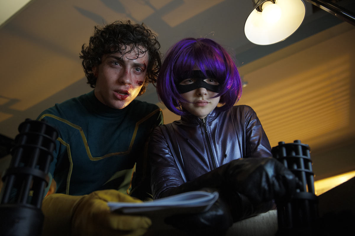 Aaron Johnson et Chloe Moretz. Metropolitan FilmExport