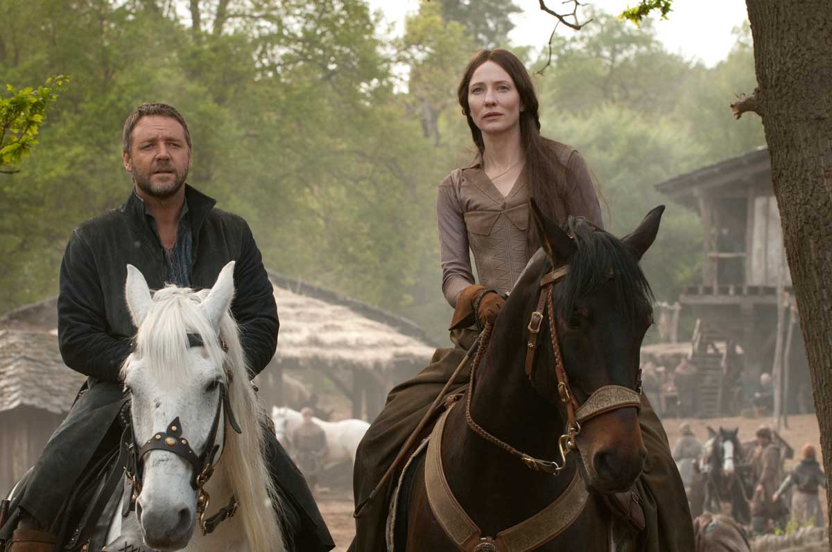 Russell Crowe et Cate Blanchett. Universal Pictures International France