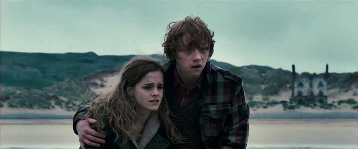 Emma Watson et Rupert Grint. Warner Bros. France