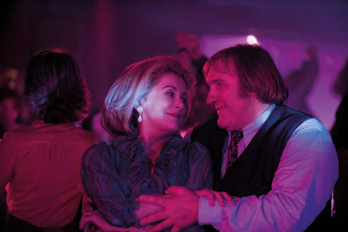 Catherine Deneuve et Gérard Depardieu. Mars Distribution