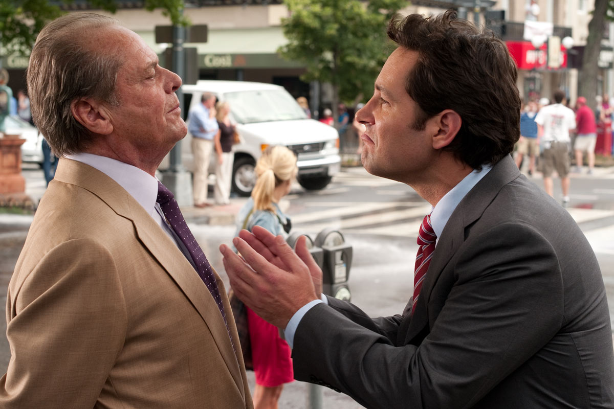 Jack Nicholson et Paul Rudd. Sony Pictures Releasing France