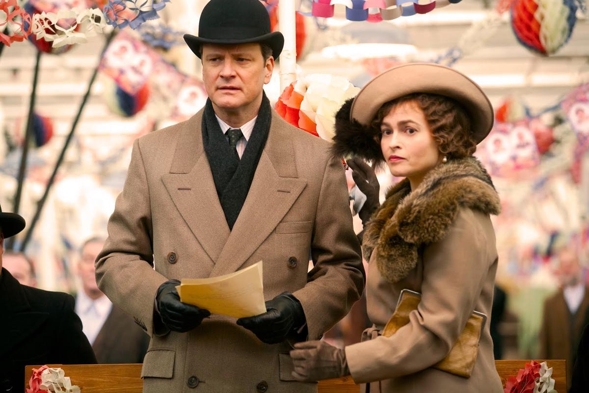Colin Firth & Helena Bonham Carter. Wild Bunch Distribution