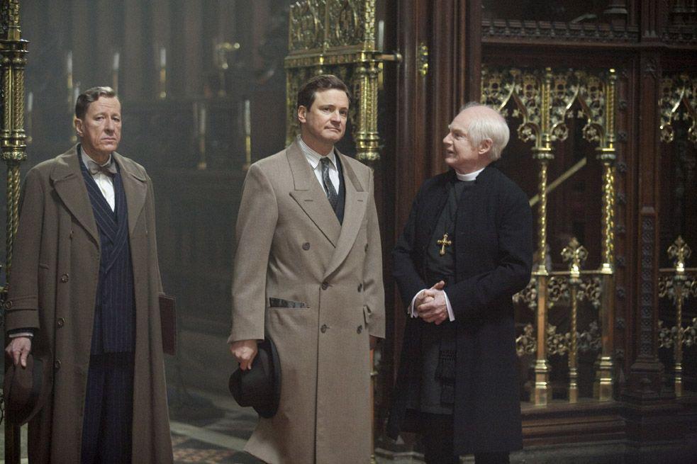 Colin Firth, Derek Jacobi et Geoffrey Rush. Wild Bunch Distribution