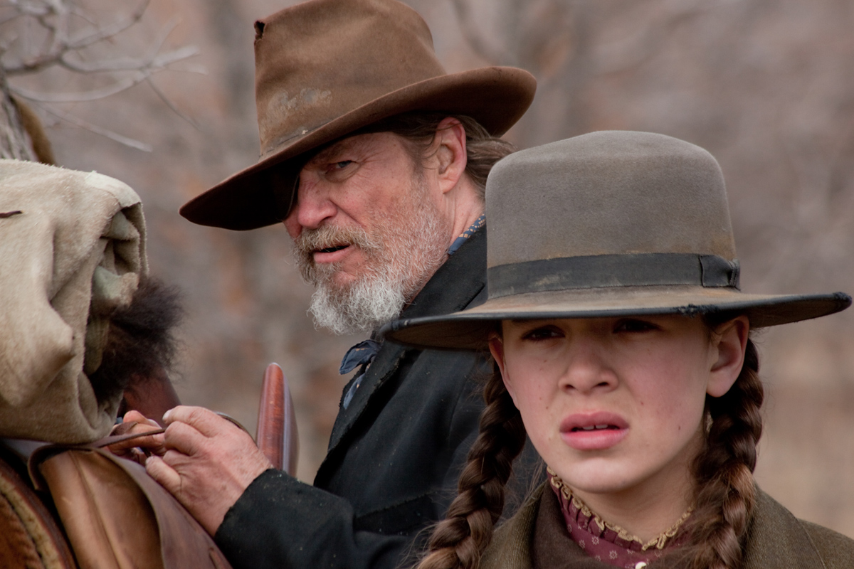 Hailee Steinfeld et Jeff Bridges. Paramount Pictures France