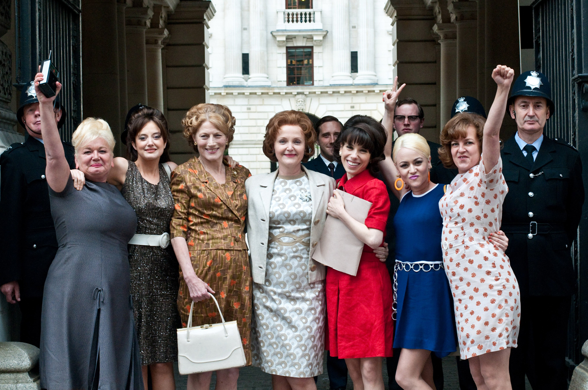 Andrea Riseborough, Miranda Richardson, Geraldine James, Sally Hawkins et Jaime Winstone. ARP Sélection