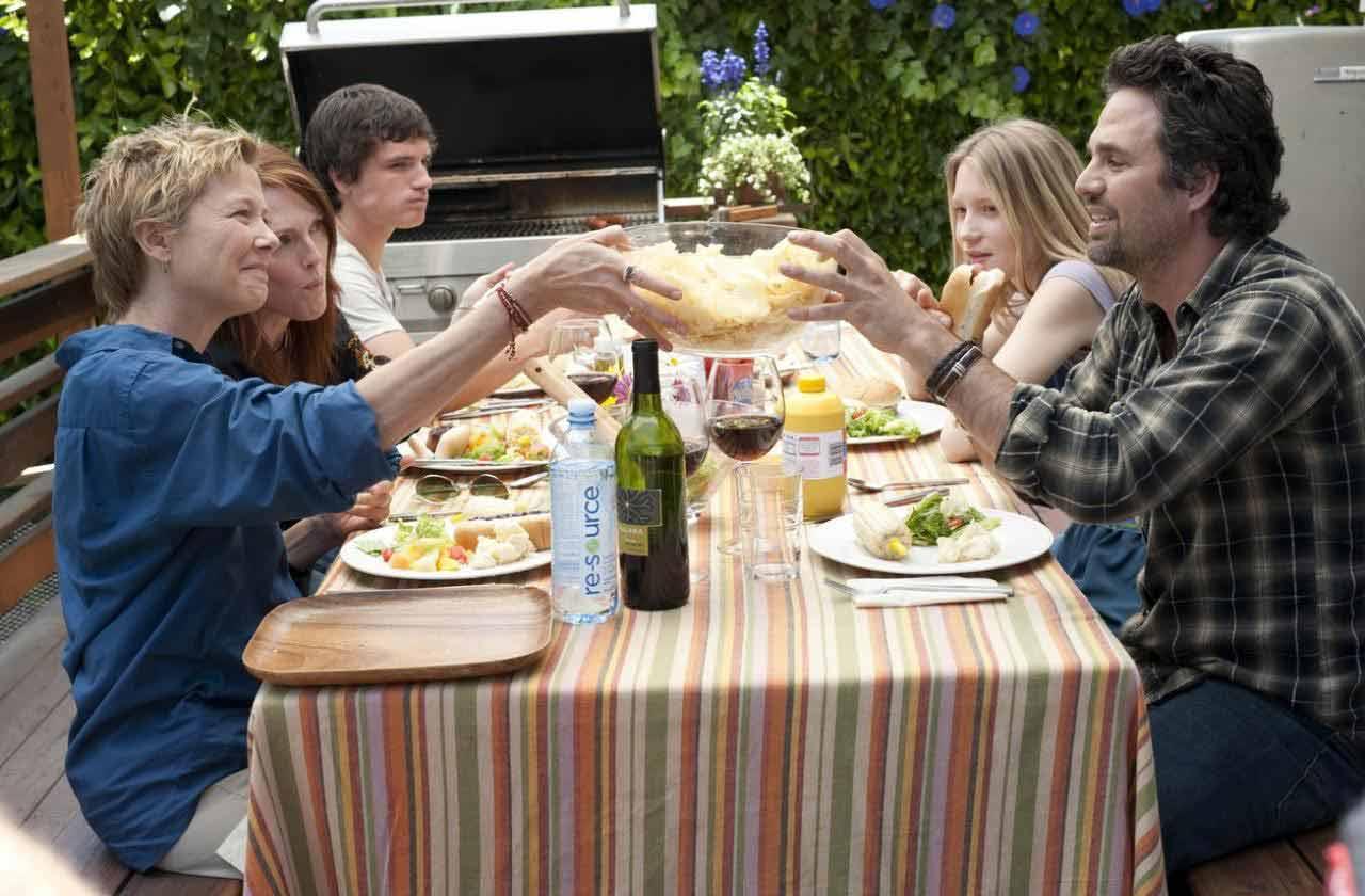 Annette Bening, Josh Hutcherson, Julianne Moore, Mia Wasikowska et Mark Ruffalo. UGC Ph