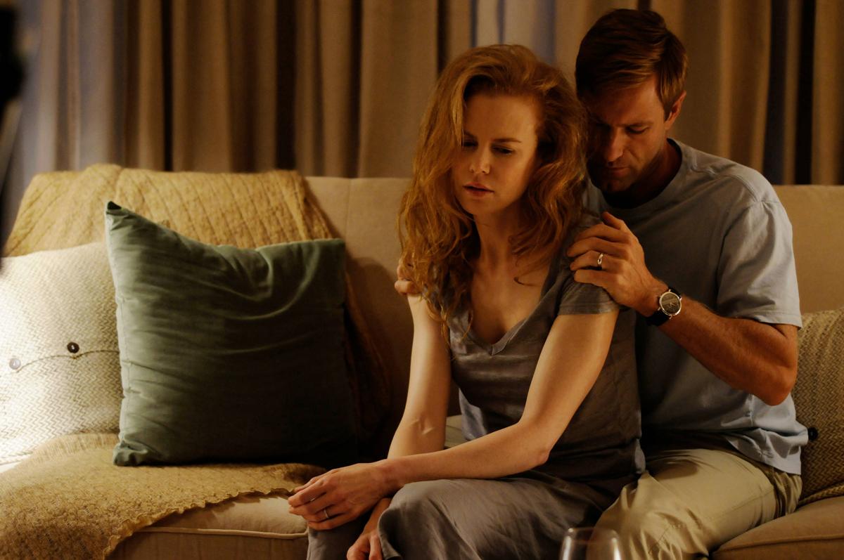 Aaron Eckhart & Nicole Kidman. Haut et Court